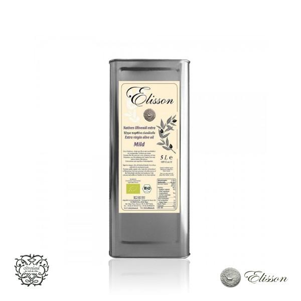 Elisson Bio Olivenöl nativ extra 5l